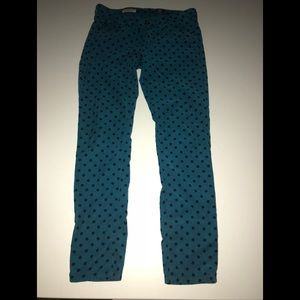 Adriano goldschmied cords stevie ankle dot pant 27